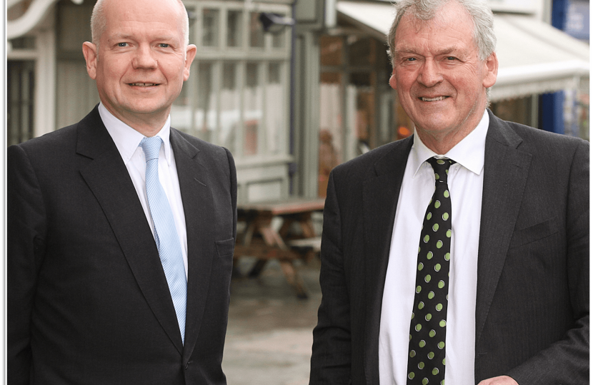 Lord Hague and Glyn Davies