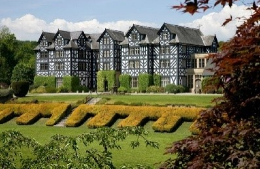 Photograph of Gregynog Hall